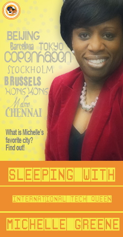 Sleeping with Michelle Greene, IT Maven