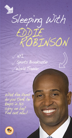 'Sleeping With' Eddie Robinson ~ ESPNU Football Analyst